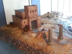 maqueta templo hércules
