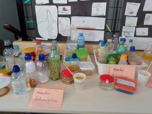 mezcla homogenea y heterogenea